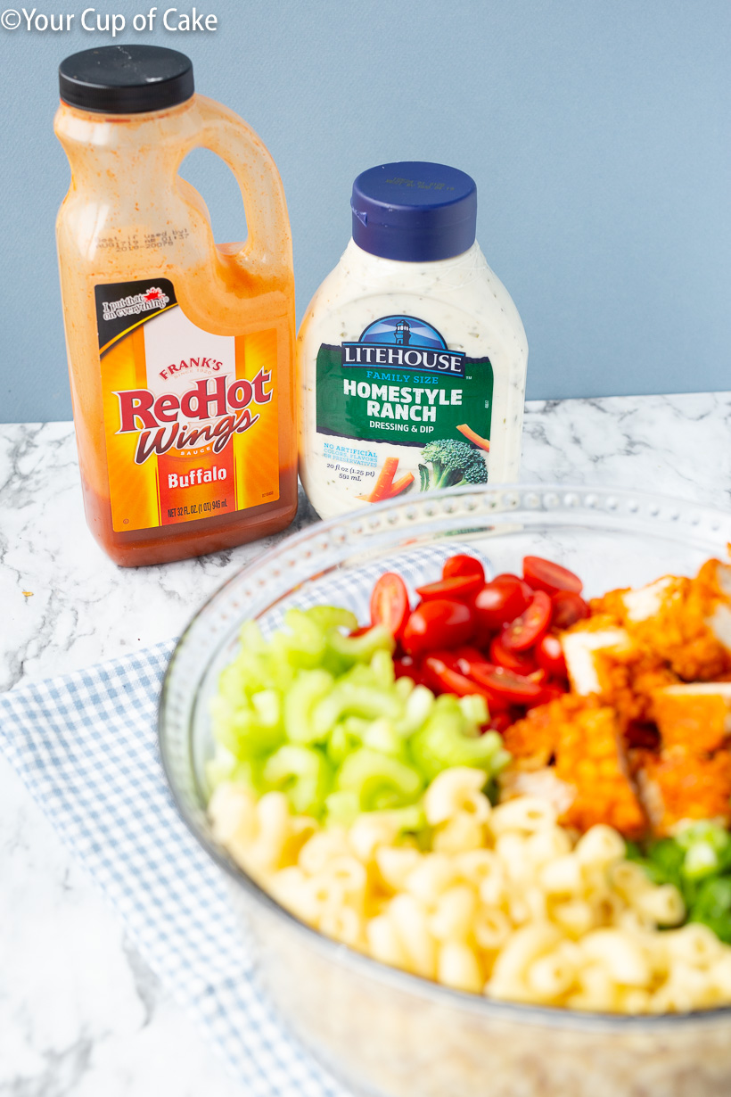 Easy dinner recipe for Buffalo Chicken lovers!