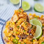 Zesty Chicken Enchilada Pasta Salad