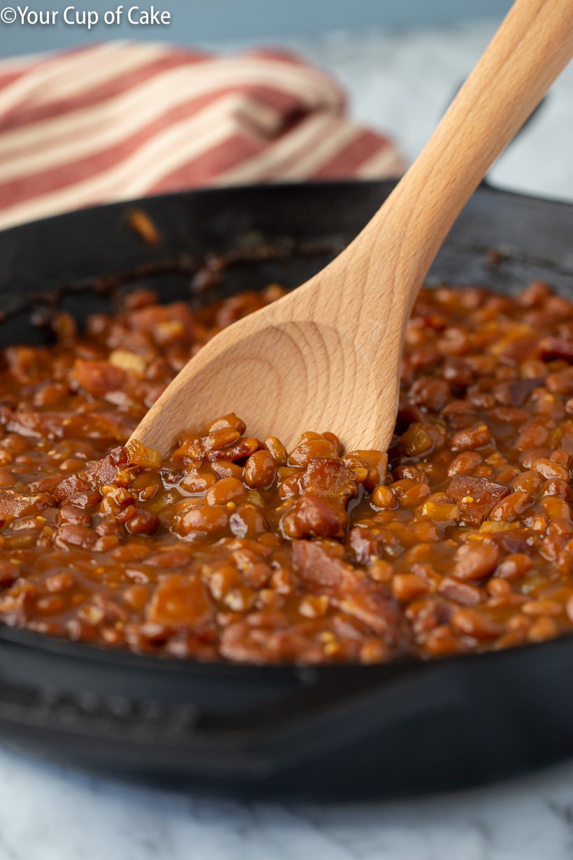 How to make canned baked beans better