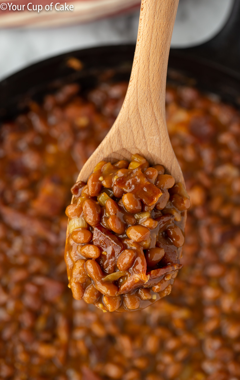 Oh WOW! I'm obsessed with these beans! Easy Ultimate Baked Beans