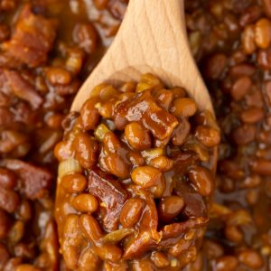 BEST BBQ side dish! Easy Ultimate Baked Beans
