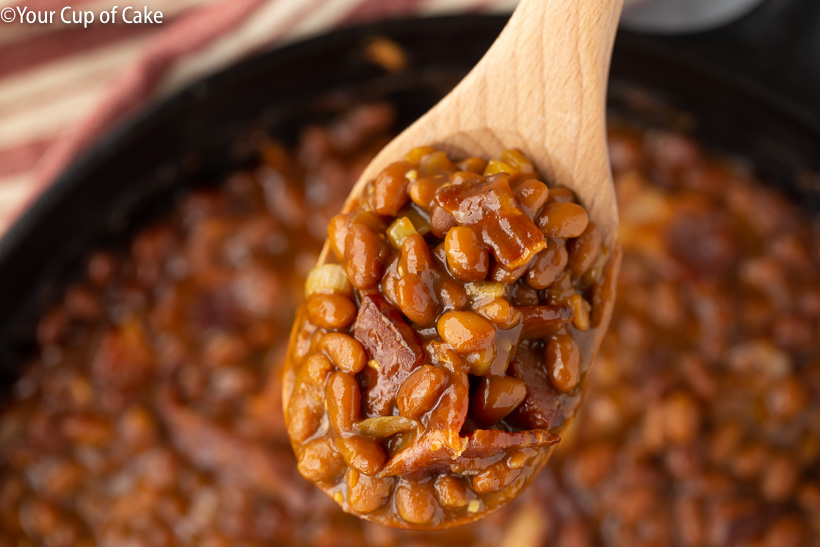 The most AMAZING beans. Easy Ultimate Baked Beans