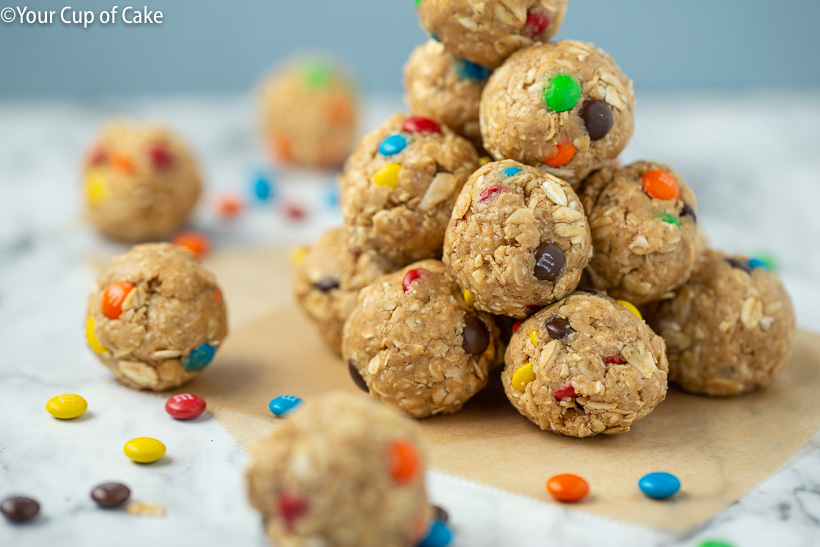 Yummy Monster Cookie Protein Bites
