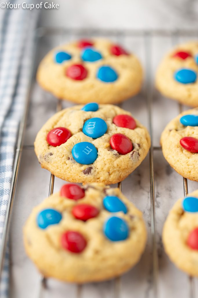 I LOVE these! Banana 4th of July Cookies