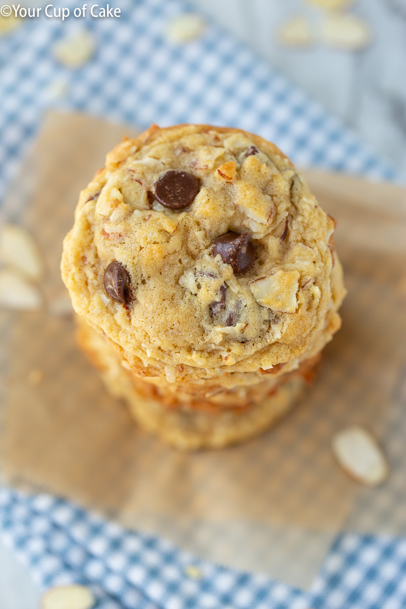 Almond Joy Cookie Recipe