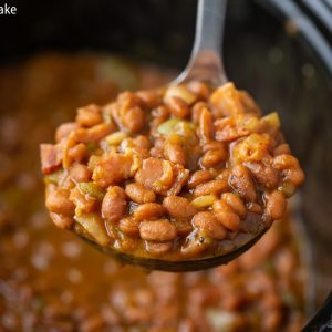 How to make Baked Beans in a slow cooker crock pot