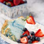 4th of July Angel Food Cake