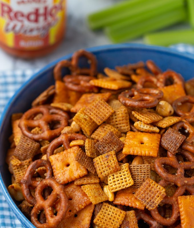 This is AMAZING! Buffalo Chex Mix