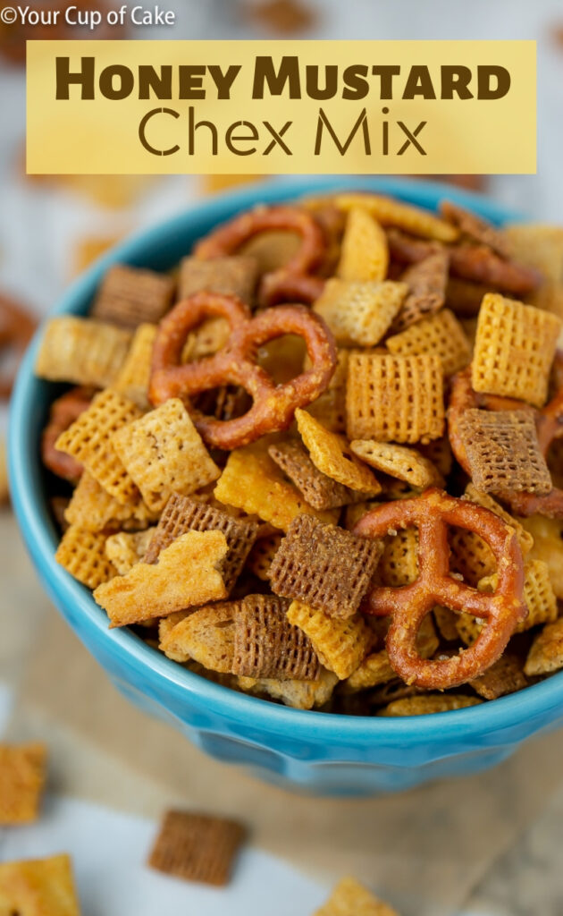 LOVE this Honey Mustard Chex Mix. It's ADDICTIVE!