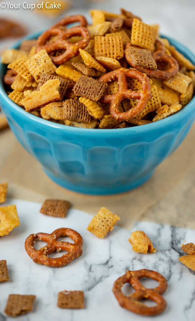 AMAZING Honey Mustard Chex Mix