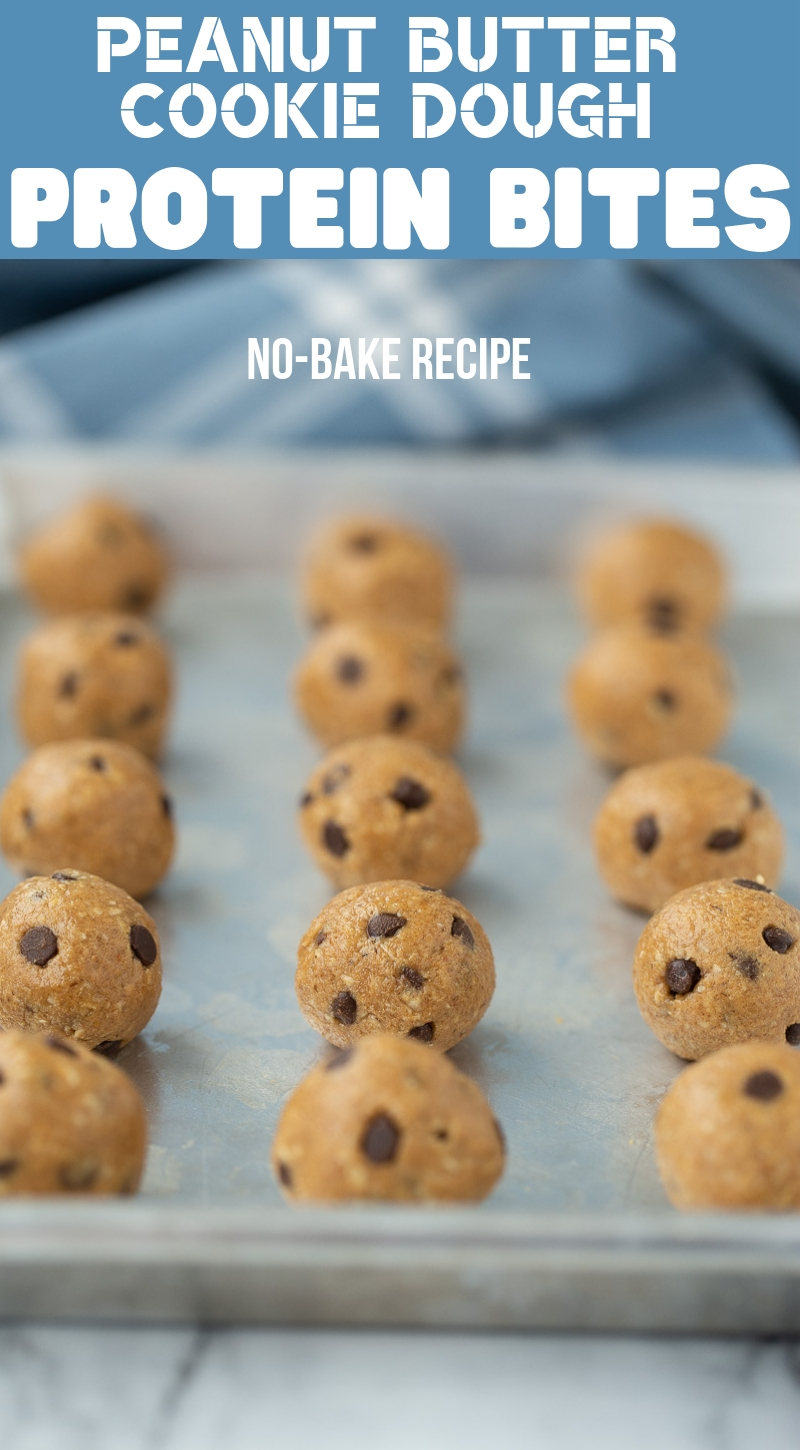 Peanut Butter Cookie Dough Protein Bites No Bake Your Cup Of Cake