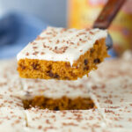 Pumpkin Chocolate Chip Sheet Cake