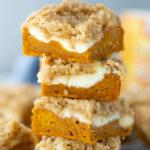 This is AMAZING!! Pumpkin Cream Cheese Crumb Cake