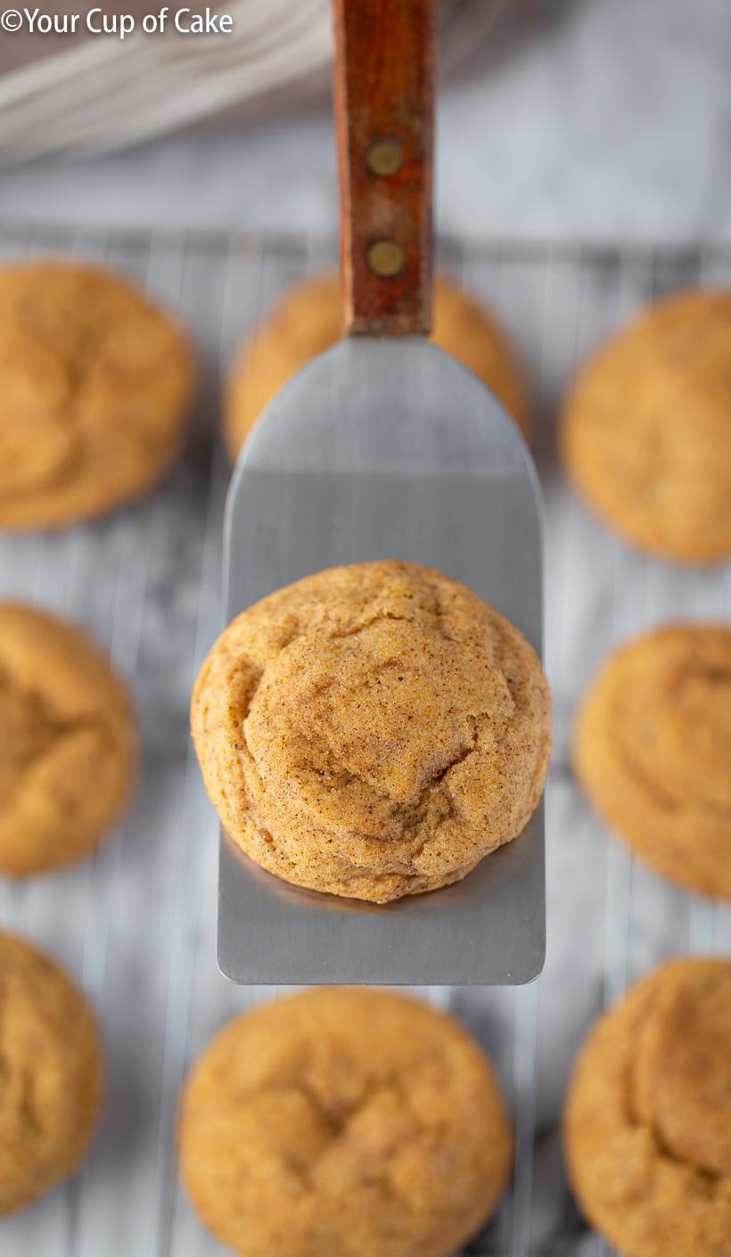 LOVE these cookies! AMAZING Pumpkin Snickerdoodles