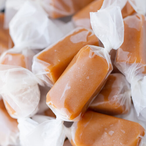 Christmas Stocking Stuffer  Traditional Caramels  Chewy Caramels  Caramels