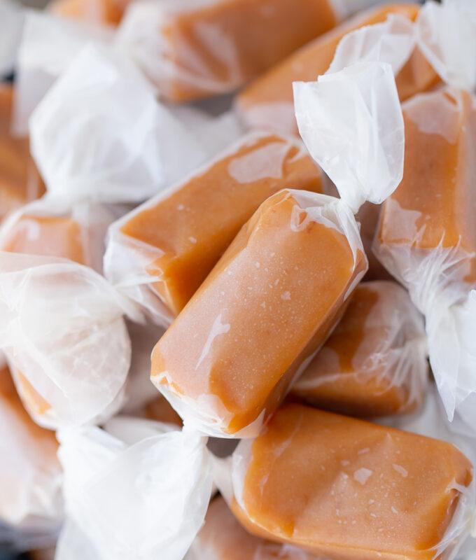 Amazing Soft Homemade Caramels