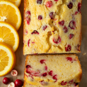 This Easy Orange Cranberry Bread is AMAZING! I make it every Christmas season and my family LOVES it