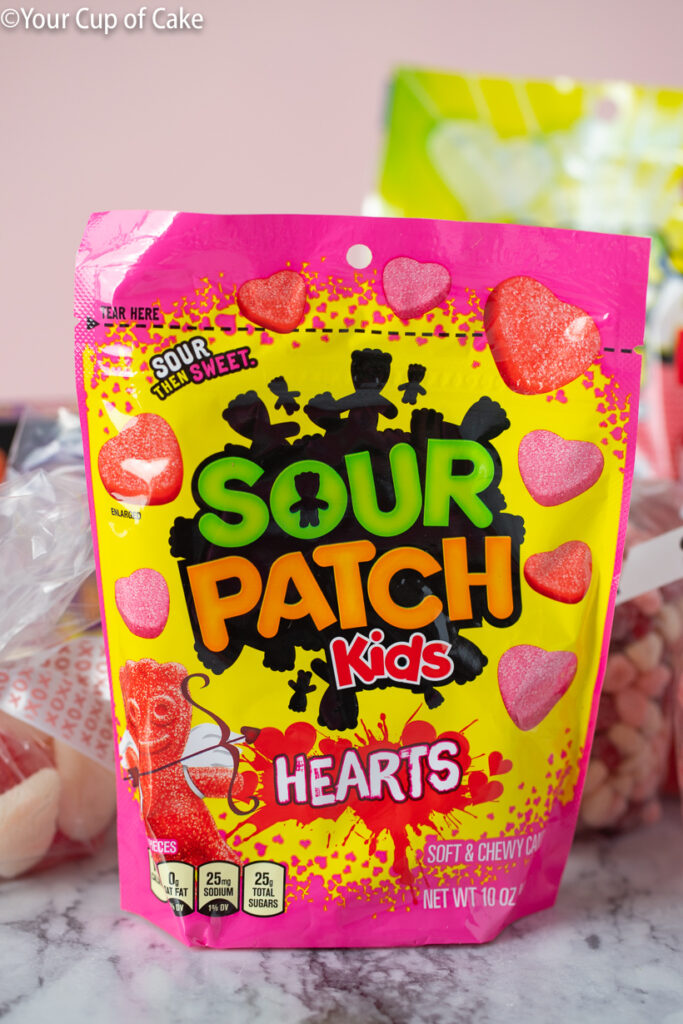 Favorite Grocery Store pick! These Sour Patch Kids Hearts are a Valentine Candy favorite!