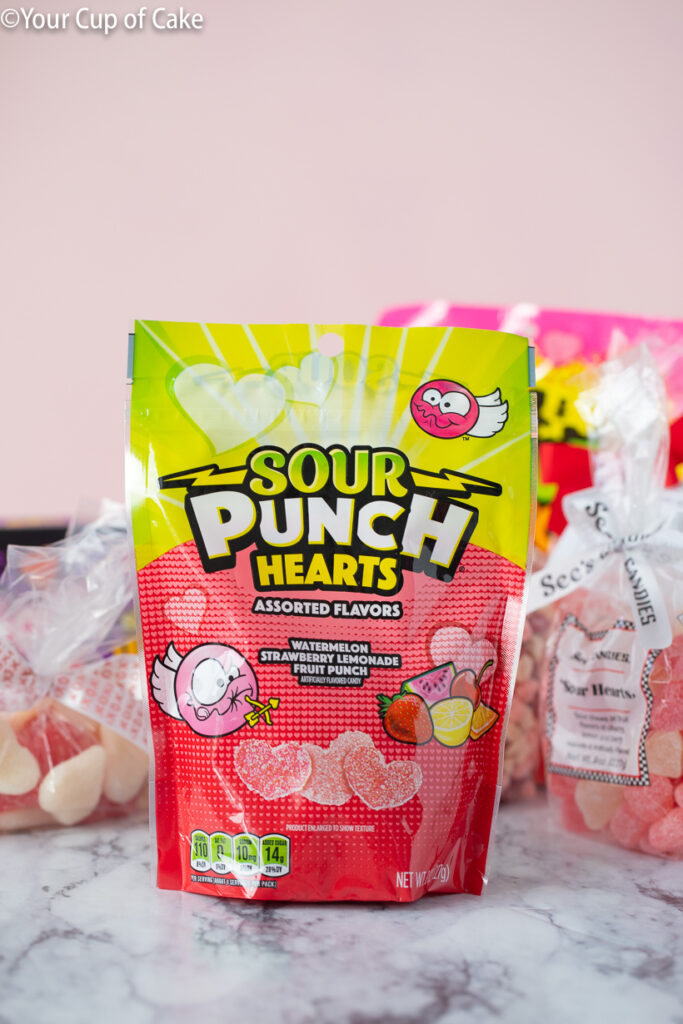 Sour Punch Hearts are NOT good! They ranked at the bottom of our list