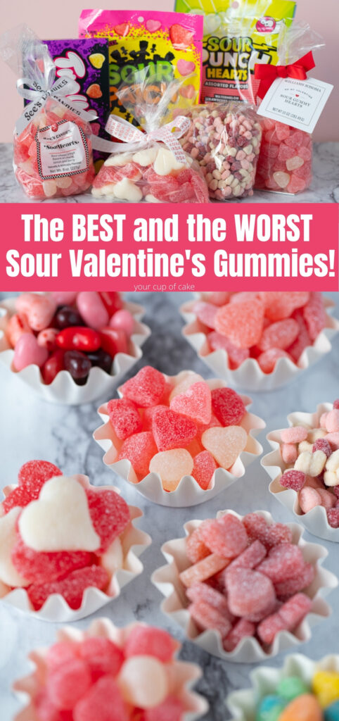 We tasted all the sour Valentine's Day candy we could find and ranked them! Some are SO GOOD and some we will never buy again!